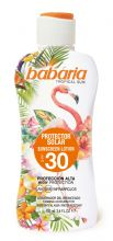 Babaria Tropical Sun Lotion SPF 30 100ml Travel Size